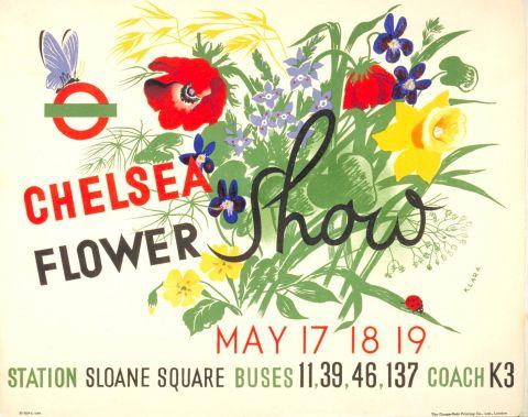 Chelsea Flower Show 30x40 print