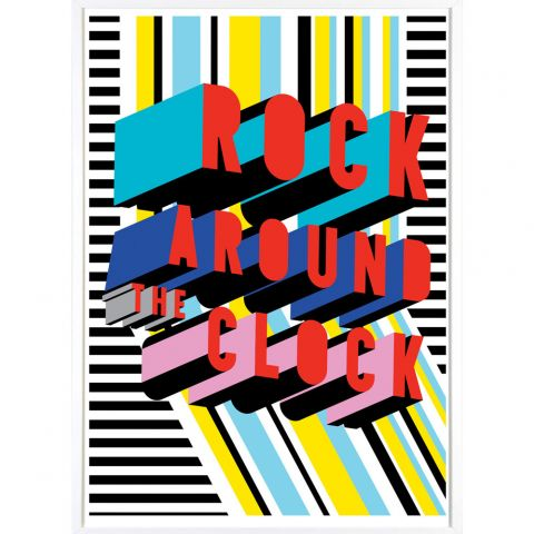 Rock around the Clock poster