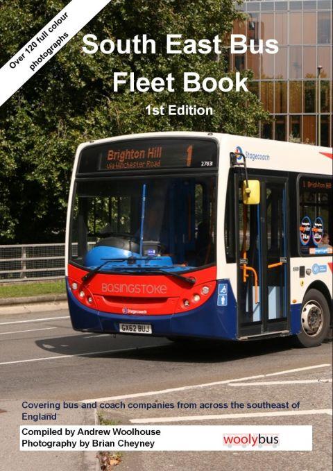 South East Bus Fleet Book 1st Edition