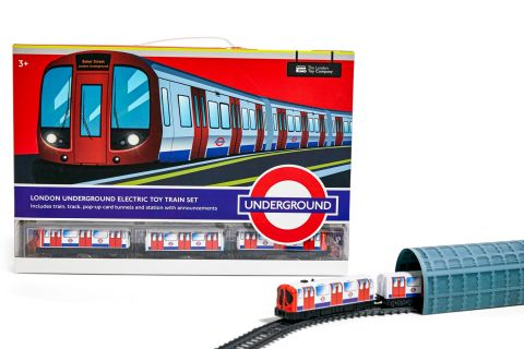 Motorised S Stock Train Set Toy