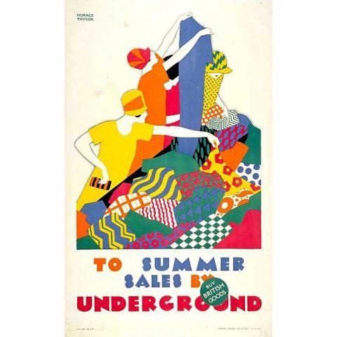 Summer Sales by Underground 30x40 print
