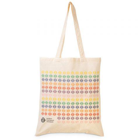 Multi Colour Roundel Tote Bag