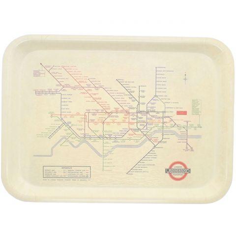Vintage Tube Map Tray