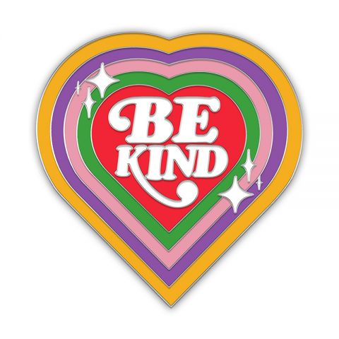 Be Kind Pin Badge