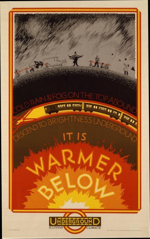 It Is Warmer Below, by Frederick Charles Herrick, 1927