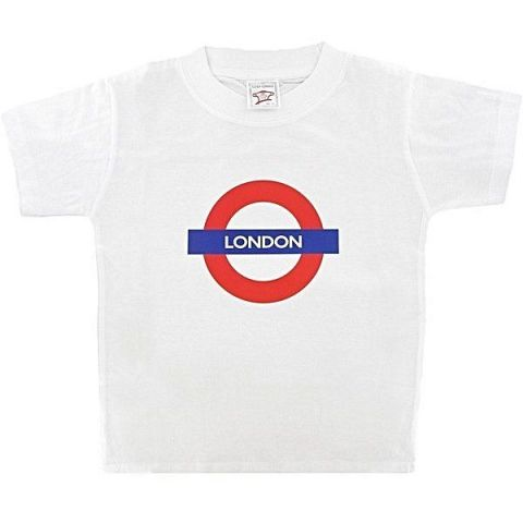 Children's White Roundel T-shirt