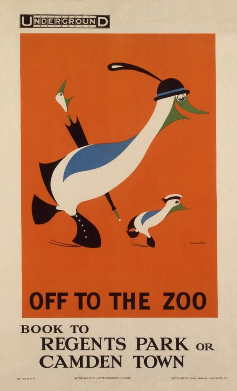 Off To The Zoo, by Reginald Rigby, 1915