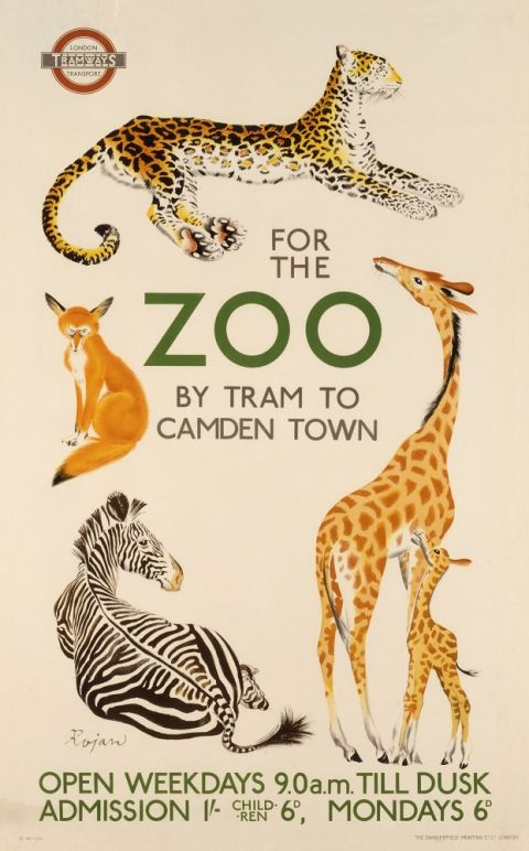For the Zoo, by Rojan, 1935