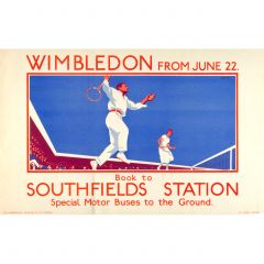 Wimbledon from June 22, by L B Black, 1925