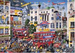 I Love London 1000 piece jigsaw