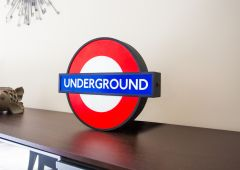 London Underground Lightbox