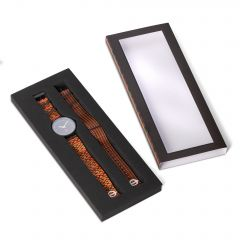 Moquette Strap Watch