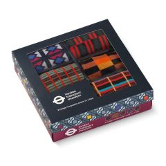 Vintage Moquette Socks in a Box Size 6-11