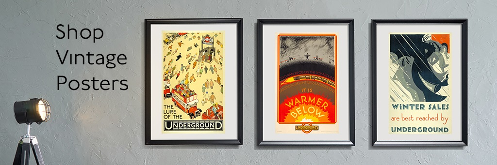 London Transport Museum made to order poster buying guide